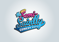 The Semi-Saintly Comedy Tour Logo - Entry #67