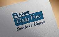 Rams Duty Free + Smoke & Booze Logo - Entry #95