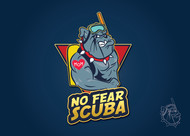 No Fear Scuba Logo - Entry #49