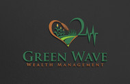 Green Wave Wealth Management Logo - Entry #261