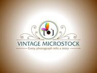 Vintage Microstock Logo - Entry #28