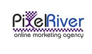 Pixel River Logo - Online Marketing Agency - Entry #164
