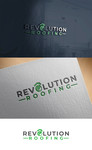 Revolution Roofing Logo - Entry #301