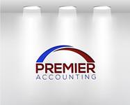 Premier Accounting Logo - Entry #100
