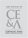 Law Office of Cortright, Evans and Associates Logo - Entry #15