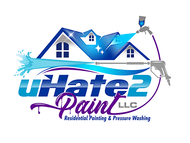 uHate2Paint LLC Logo - Entry #167