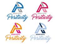 Aggressive Positivity  Logo - Entry #92