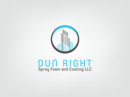 Dun Right Spray Foam and Coating LLC Logo - Entry #3