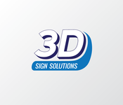 3D Sign Solutions Logo - Entry #75