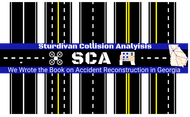 Sturdivan Collision Analyisis.  SCA Logo - Entry #145
