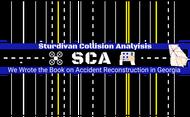 Sturdivan Collision Analyisis.  SCA Logo - Entry #145