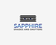 Sapphire Shades and Shutters Logo - Entry #79