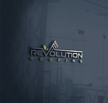 Revolution Roofing Logo - Entry #257