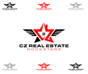 CZ Real Estate Rockstars Logo - Entry #193