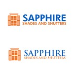 Sapphire Shades and Shutters Logo - Entry #209