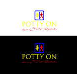 Potty On Luxury Toilet Rentals Logo - Entry #46