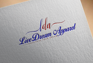 LiveDream Apparel Logo - Entry #3