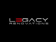 LEGACY RENOVATIONS Logo - Entry #46