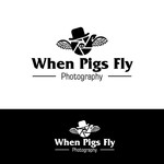 When Pigs Fly Photography Logo - Entry #25