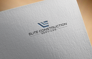 Elite Construction Services or ECS Logo - Entry #41