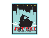 Chicago Jet Ski Adventures Logo - Entry #54