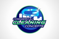 Commercial Cleaning Concepts Logo - Entry #98