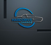 Hard drive garage Logo - Entry #373