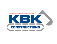 KBK constructions Logo - Entry #103
