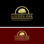 Golden Oak Wealth Management Logo - Entry #151