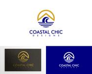 Coastal Chic Designs Logo - Entry #105