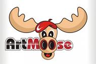 ArtMoose Logo - Entry #38