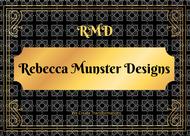 Rebecca Munster Designs (RMD) Logo - Entry #246