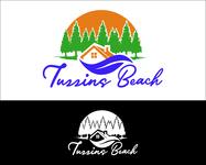 Tuzzins Beach Logo - Entry #131