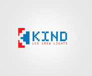 Kind LED Grow Lights Logo - Entry #34