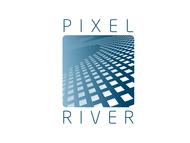 Pixel River Logo - Online Marketing Agency - Entry #242