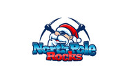 North Pole Rocks Logo - Entry #21
