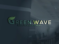 Green Wave Wealth Management Logo - Entry #2
