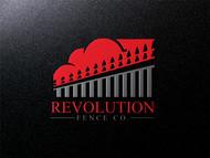Revolution Fence Co. Logo - Entry #133