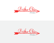 Drifter Chic Boutique Logo - Entry #151