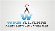 Logo for WebAlarms - Alert services on the web - Entry #70
