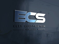 Elite Construction Services or ECS Logo - Entry #316