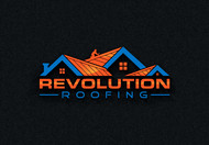 Revolution Roofing Logo - Entry #250