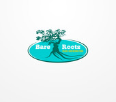 Bare Roots Color & Hair Design Studio Logo - Entry #36