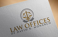 Law Offices of David R. Monarch Logo - Entry #212