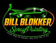Bill Blokker Spraypainting Logo - Entry #62