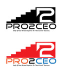 PRO2CEO Personal/Professional Development Company  Logo - Entry #90