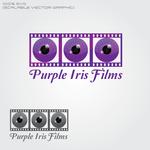 Purple Iris Films Logo - Entry #23