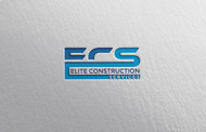 Elite Construction Services or ECS Logo - Entry #300
