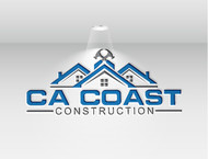CA Coast Construction Logo - Entry #72