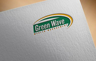 Green Wave Wealth Management Logo - Entry #437
